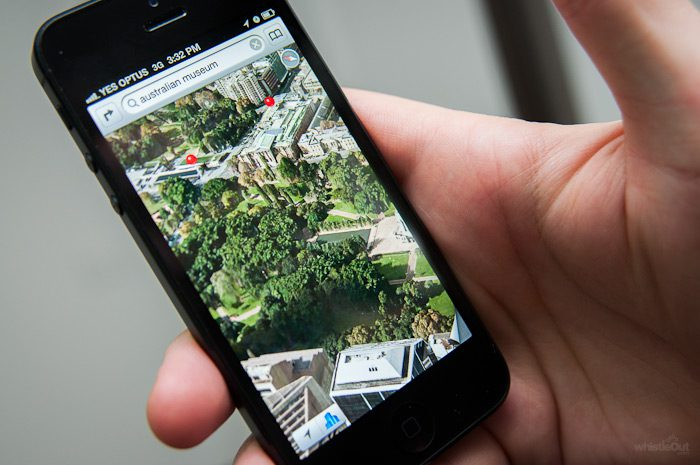 apple-iphone-5-map