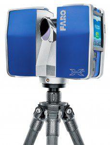The FARO Laser Scanner Focus X 330 has a range of 330 meters.