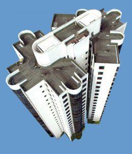 LOD2 CityGML residential_textured