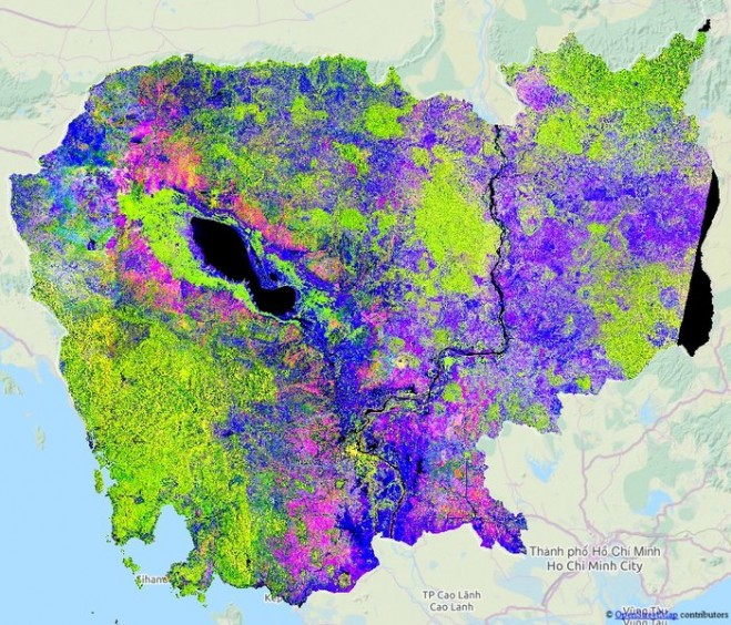 Sentinel-1 Sees Rice Paddy Drop In Mekong Delta « Asian